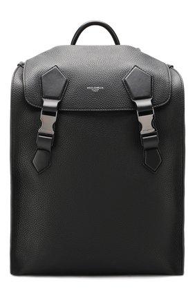 Мужской кожаный рюкзак edge DOLCE & GABBANA черного цвета, арт. BM1799/AJ773 | Фото 1