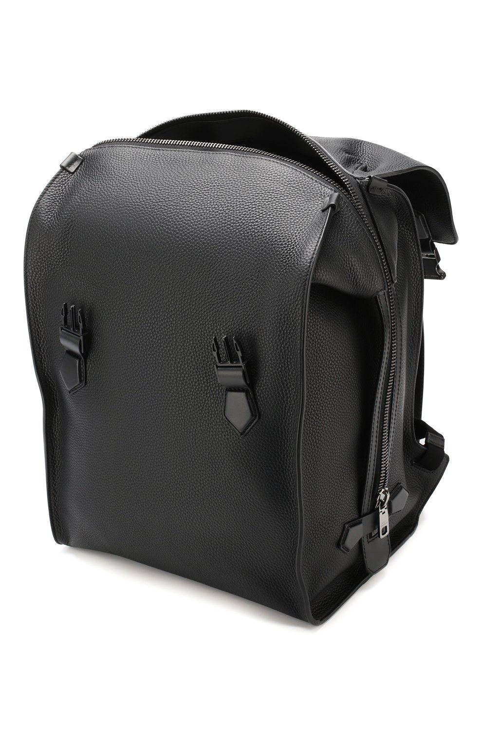 Мужской кожаный рюкзак edge DOLCE & GABBANA черного цвета, арт. BM1799/AJ773 | Фото 4