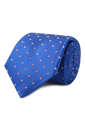 Мужской шелковый галстук ZILLI голубого цвета, арт. 50506/TIES | Фото 1
