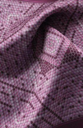Мужской шелковый платок ZILLI фиолетового цвета, арт. 50712/HANDKERCHIEFS | Фото 2