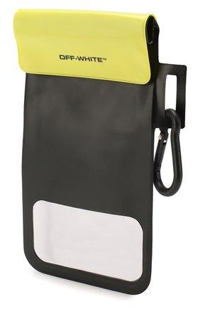 Мужского чехол для iphone OFF-WHITE черно-белого цвета, арт. 0MVM005R20D340201001 | Фото 2