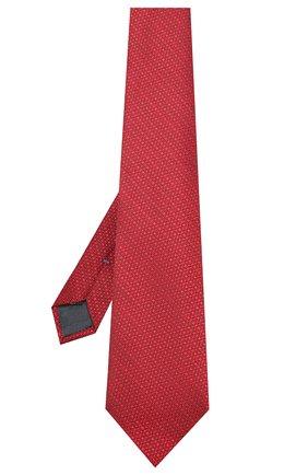 Мужской шелковый галстук ERMENEGILDO ZEGNA красного цвета, арт. Z7E64/1UM | Фото 2