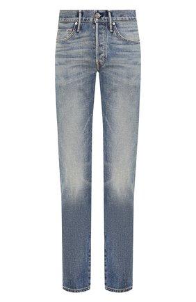 Мужские джинсы TOM FORD синего цвета, арт. BUJ31/TFD002 | Фото 1