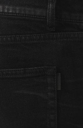 Мужские джинсы SAINT LAURENT черного цвета, арт. 601478/Y500A | Фото 5