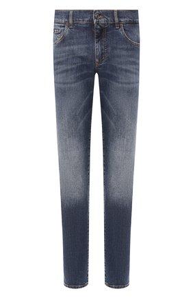 Мужские джинсы DOLCE & GABBANA синего цвета, арт. GY07CZ/G8BY5 | Фото 1