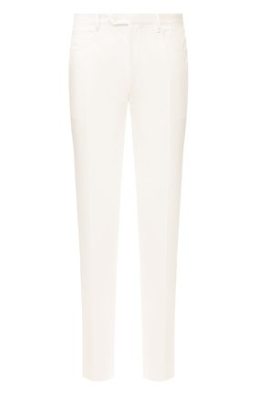 Мужской брюки из смеси хлопка и кашемира ZILLI белого цвета, арт. M0T-40-S1-C6045/0001 | Фото 1