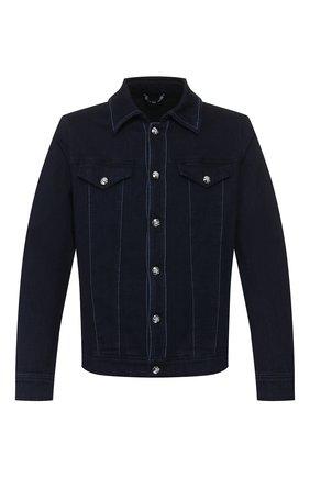 Мужская джинсовая куртка ZILLI темно-синего цвета, арт. MCT-00048-JABI1/0001 | Фото 1