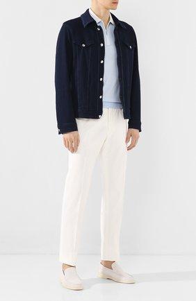 Мужская джинсовая куртка ZILLI темно-синего цвета, арт. MCT-00048-JABI1/0001 | Фото 2