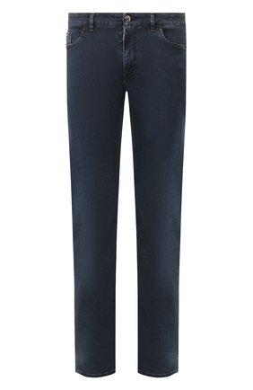 Мужские джинсы ZILLI темно-синего цвета, арт. MCT-00099-DSBL1/R001 | Фото 1