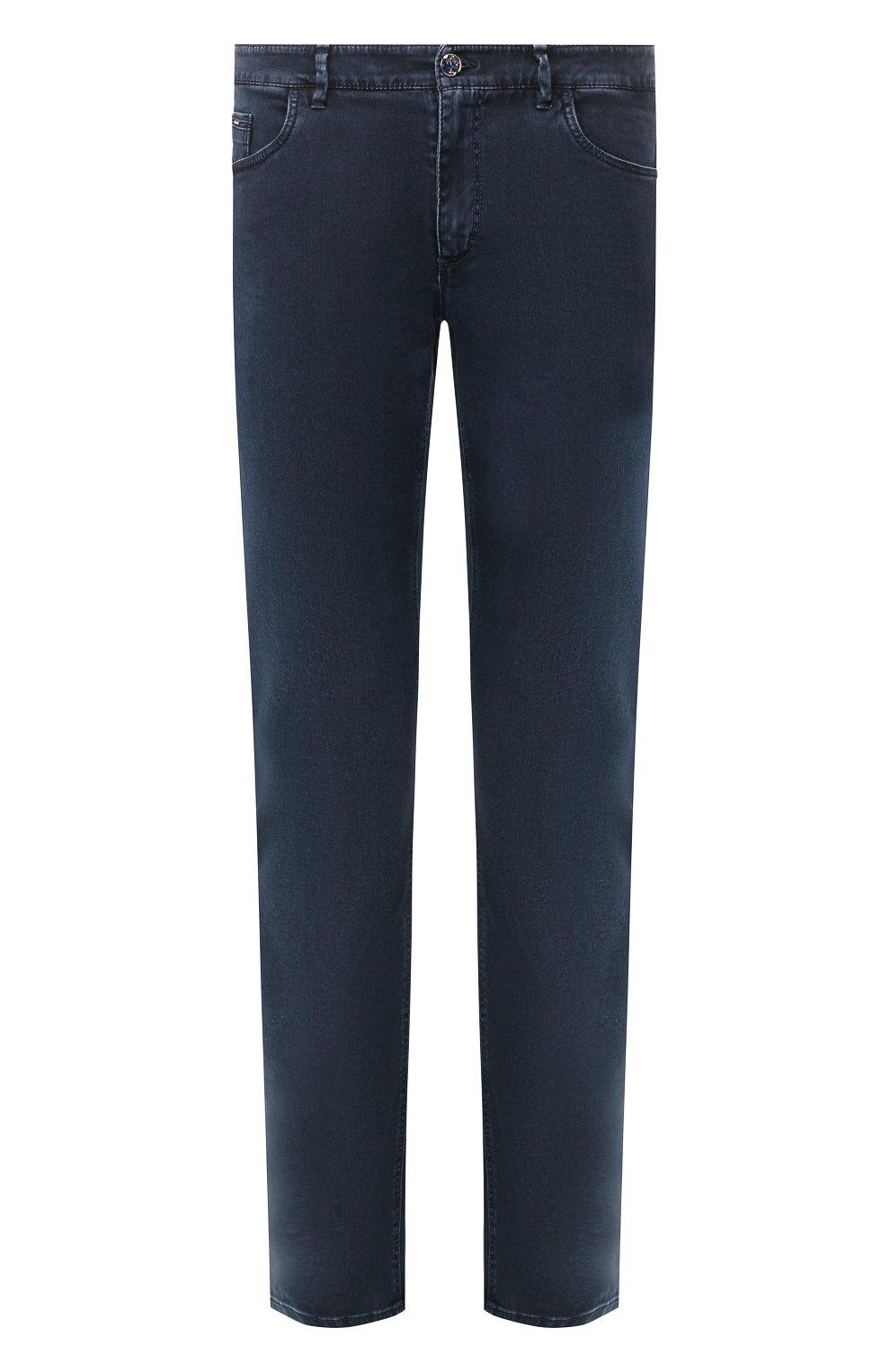Мужские джинсы ZILLI синего цвета, арт. MCT-00099-DSBL1/S001   Фото 1