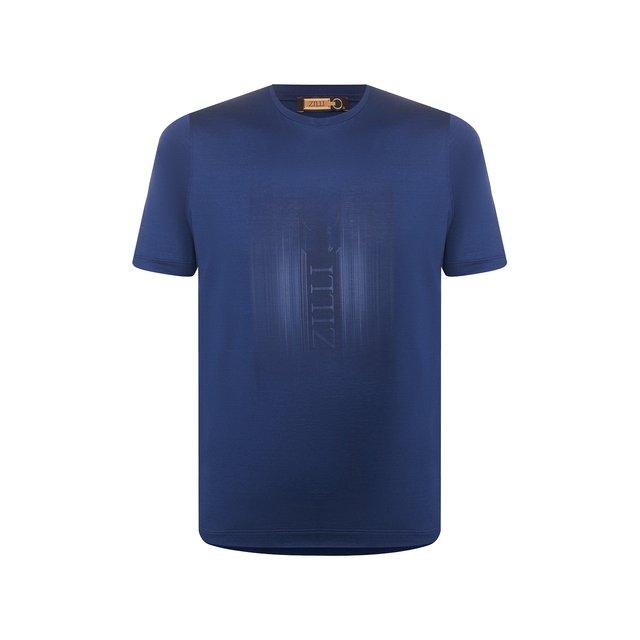 Хлопковая футболка Zilli
