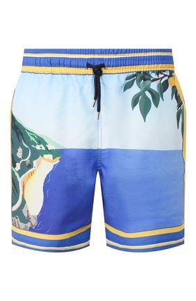 Детского плавки-шорты DEREK ROSE синего цвета, арт. 9761-0AHU002 | Фото 1