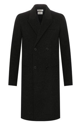 Мужской пальто из смеси шерсти и кашемира BOTTEGA VENETA темно-серого цвета, арт. 599294/VKLU0 | Фото 1