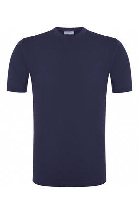 Мужской хлопковый джемпер JACOB COHEN темно-синего цвета, арт. J1114 01478-V/53 | Фото 1