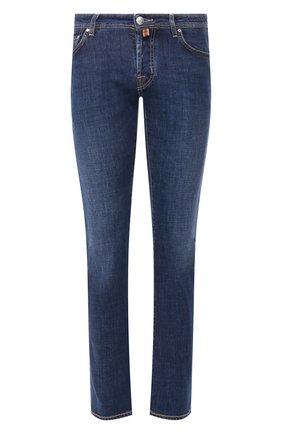 Мужские джинсы JACOB COHEN синего цвета, арт. J620 C0MF 01190-W2/53 | Фото 1