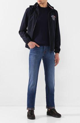 Мужские джинсы JACOB COHEN синего цвета, арт. J620 C0MF 01843-W2/53 | Фото 2