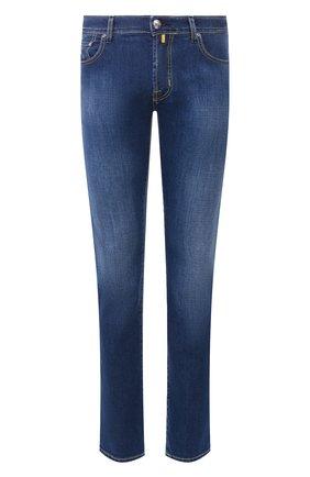 Мужские джинсы JACOB COHEN синего цвета, арт. J688 C0MF 00919-W2/53   Фото 1