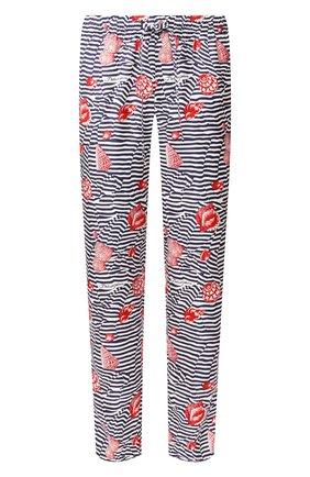 Мужские шелковые домашние брюки DOLCE & GABBANA разноцветного цвета, арт. GYB0HT/HS19K   Фото 1