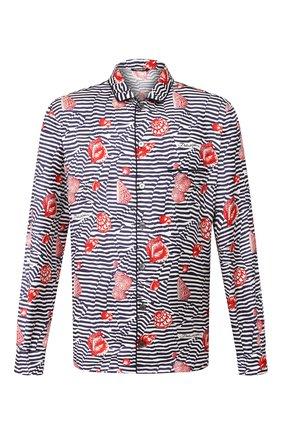 Мужская шелковая сорочка DOLCE & GABBANA разноцветного цвета, арт. G5EM2T/HS19K | Фото 1