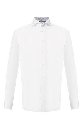Мужская хлопковая сорочка ETON белого цвета, арт. 1000 00978 | Фото 1