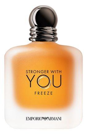 Мужской туалетная вода emporio armani stronger with you freeze GIORGIO ARMANI бесцветного цвета, арт. 3614272889590 | Фото 1