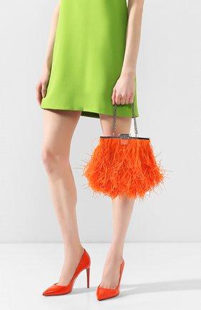 Женский сумка RALPH LAUREN оранжевого цвета, арт. 435795459 | Фото 2