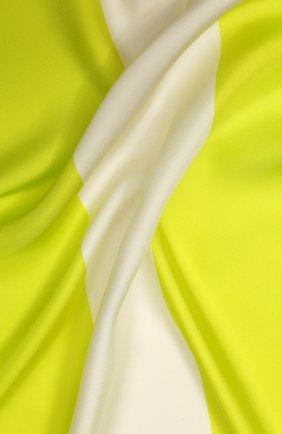 Женский шелковый платок valentino garavani VALENTINO желтого цвета, арт. TW0EB104/MPT | Фото 2