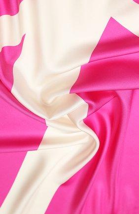Женский шелковый платок valentino garavani VALENTINO фуксия цвета, арт. TW0EB104/MPT | Фото 2