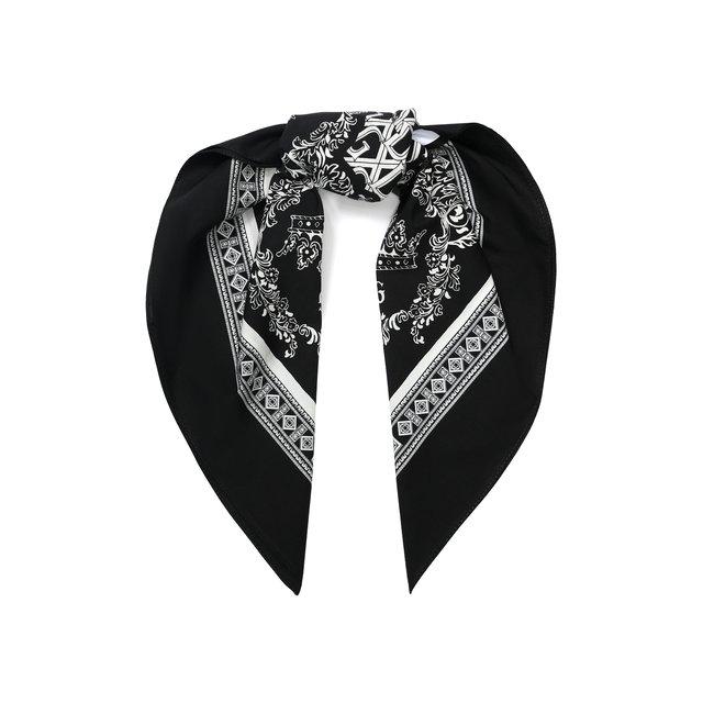 Хлопковый платок Dolce & Gabbana