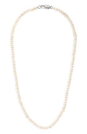 Женское колье vera COPINE JEWELRY белого цвета, арт. VERA | Фото 1