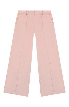 Детские брюки LES COYOTES DE PARIS розового цвета, арт. 111-30-042   Фото 1