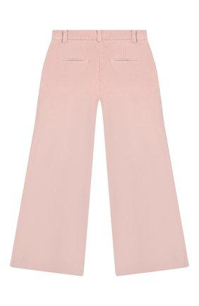 Детские брюки LES COYOTES DE PARIS розового цвета, арт. 111-30-042   Фото 2