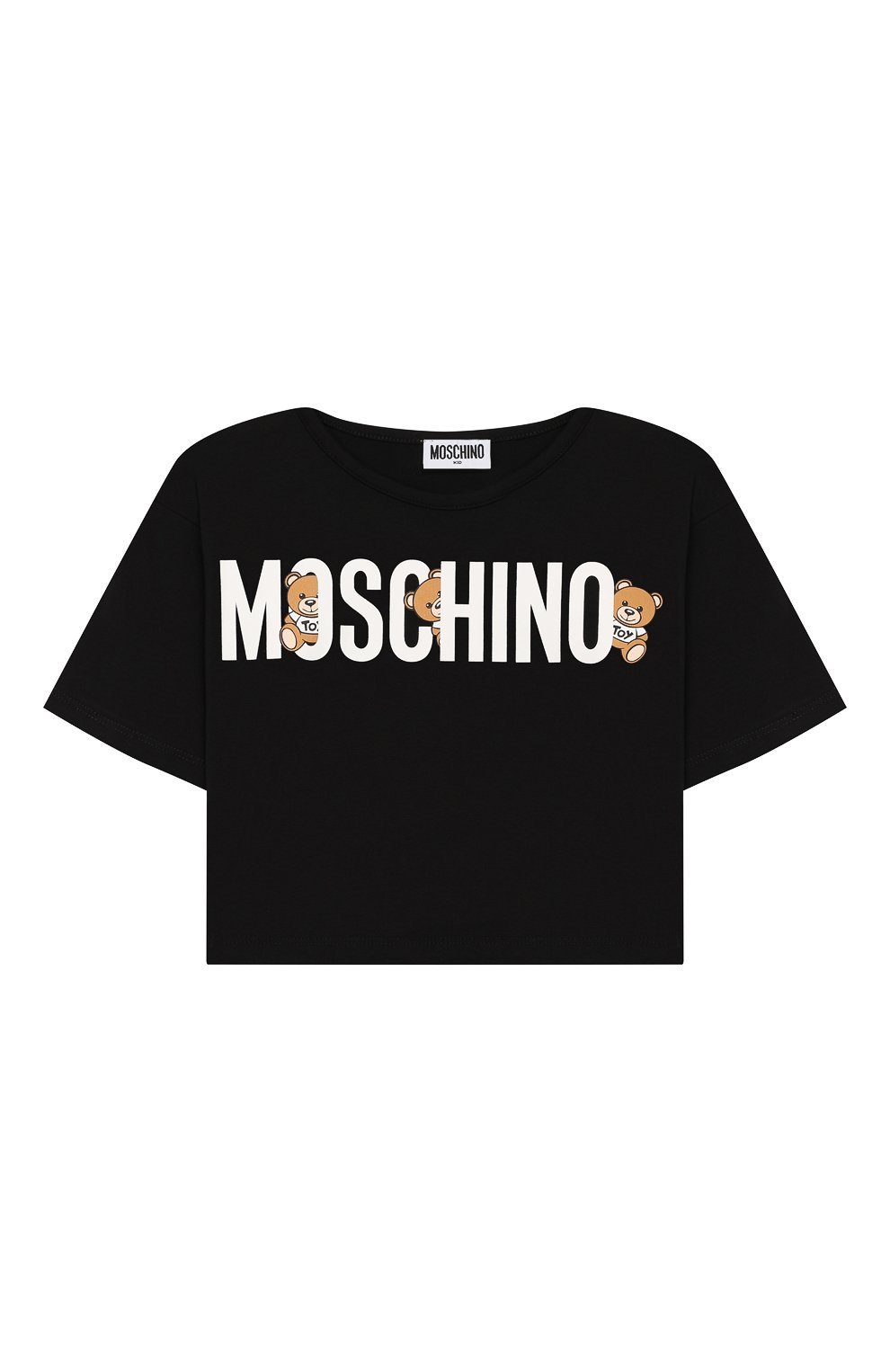 Детский комплект из футболки и юбки MOSCHINO KID разноцветного цвета, арт. HDG001/LDB39/4A-8A | Фото 2