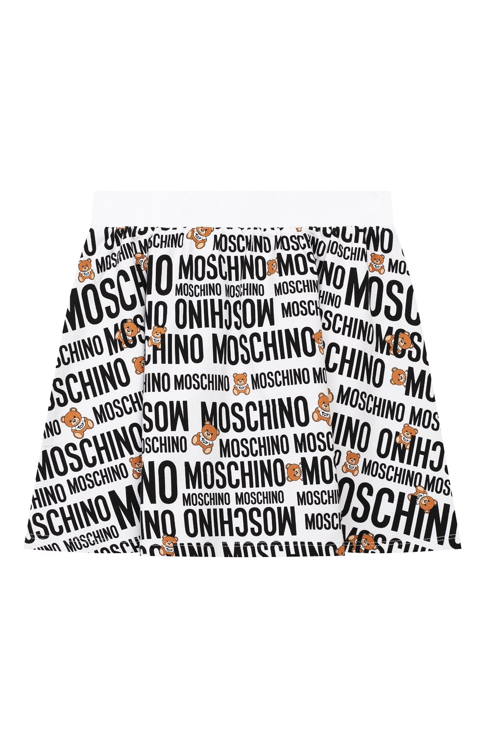 Детский комплект из футболки и юбки MOSCHINO KID разноцветного цвета, арт. HDG001/LDB39/4A-8A | Фото 4