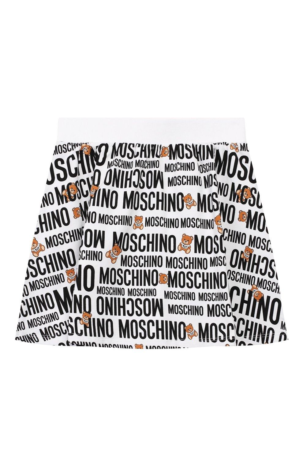 Детский комплект из футболки и юбки MOSCHINO KID разноцветного цвета, арт. HDG001/LDB39/4A-8A | Фото 5