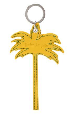 Мужской брелок PALM ANGELS желтого цвета, арт. PMNF007S208100236091 | Фото 1
