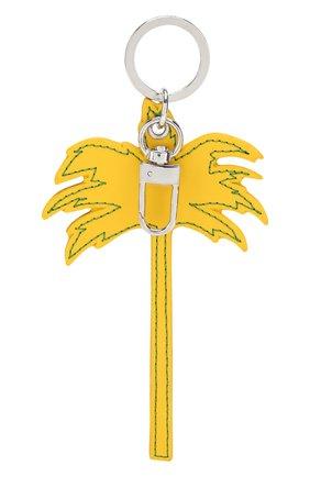 Мужской брелок PALM ANGELS желтого цвета, арт. PMNF007S208100236091 | Фото 2
