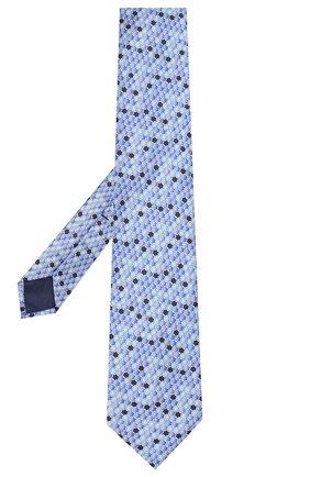 Мужской шелковый галстук ZILLI синего цвета, арт. 50544/TIES | Фото 2