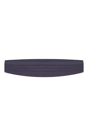 Мужской шелковый камербанд CORNELIANI темно-синего цвета, арт. 85U307-0120300/00 | Фото 1