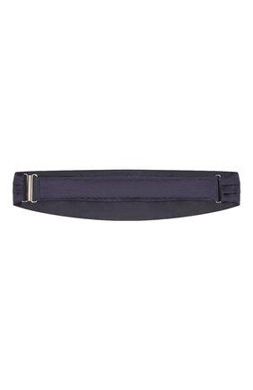 Мужской шелковый камербанд CORNELIANI темно-синего цвета, арт. 85U307-0120300/00 | Фото 2