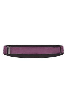 Мужской шелковый камербанд CORNELIANI фиолетового цвета, арт. 85U307-0120300/00 | Фото 2