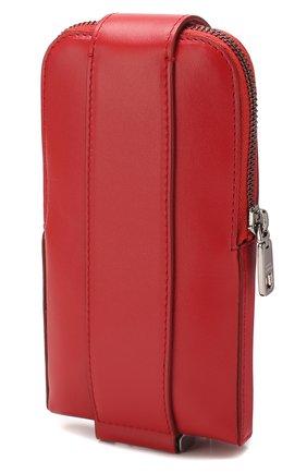 Мужского кожаный чехол для iphone DOLCE & GABBANA красного цвета, арт. BP2576/AJ806 | Фото 2