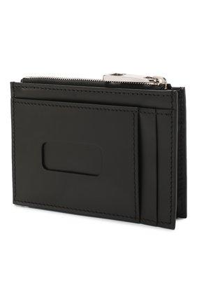 Мужской кожаный футляр для кредитных карт GUCCI черного цвета, арт. 597560/CWC1N | Фото 2