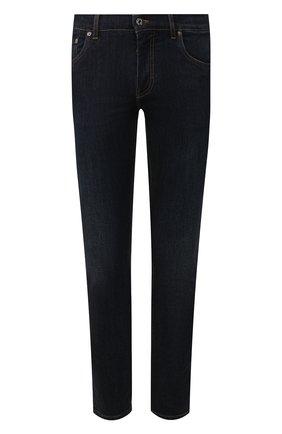 Мужские джинсы DOLCE & GABBANA синего цвета, арт. GY07LZ/G8BY4   Фото 1