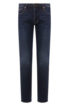 Мужские джинсы EMPORIO ARMANI синего цвета, арт. 3H1J75/1DFNZ | Фото 1