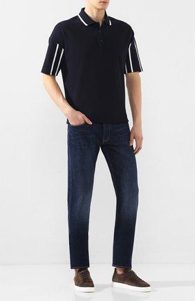 Мужские джинсы EMPORIO ARMANI синего цвета, арт. 3H1J75/1DFNZ | Фото 2