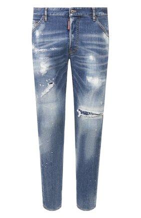 Мужские джинсы DSQUARED2 синего цвета, арт. S71LB0721/S30664 | Фото 1