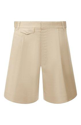 Мужские хлопковые шорты DSQUARED2 бежевого цвета, арт. S71MU0592/S39021 | Фото 1