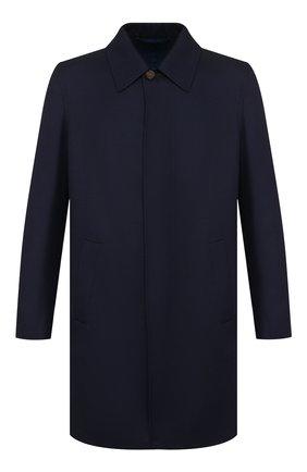 Мужской шерстяное пальто BRIONI темно-синего цвета, арт. S0PZ0L/06AX6 | Фото 1