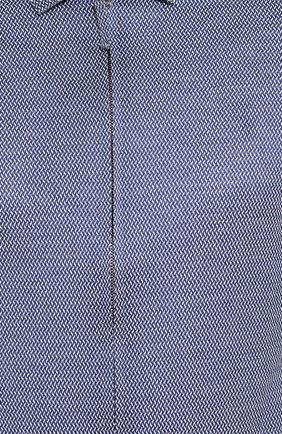 Мужская хлопковая рубашка GIORGIO ARMANI темно-серого цвета, арт. 8WGCCZ5H/JZ556 | Фото 5